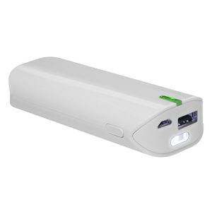 Power Bank 5200 mAh con Linterna