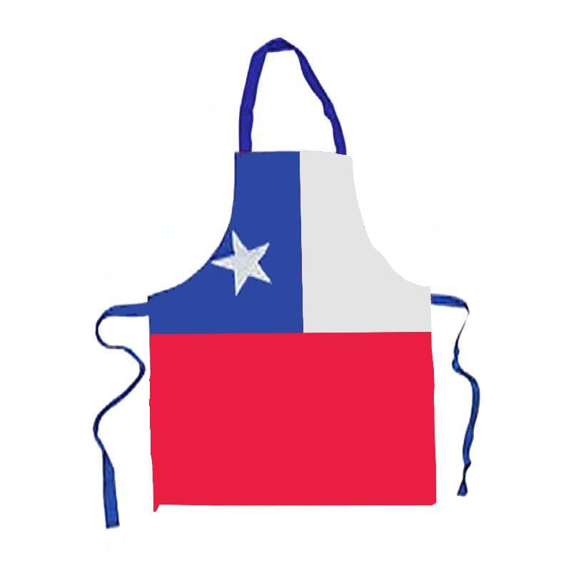 Pechera Bandera Chilena