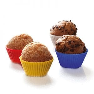 Set Moldes Muffin y Cupcakes Silicona