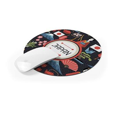 Pad Mouse Circular de Silicona